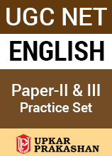 UGC NET English Paper-II and III - 20 Practice Set