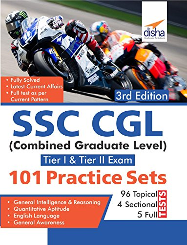 101 Practice Sets for SSC CGL Tier I and Tier II Exam