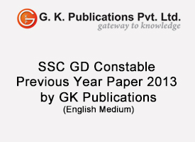 SSC GD Constable Previous Year Paper 2013