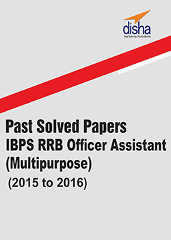 IBPS RRB Office Assistant(Multipurpose)  Past Solved Papers (2015 to 2016)