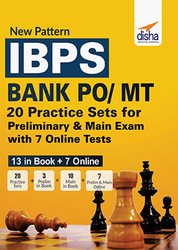 New Pattern IBPS Bank PO/MT 20 Practice Sets for Preliminary and Main Exam