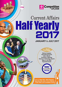 Current Affairs Half Yearly January to July 2017