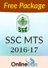 SSC MTS 2016-17 - Free Package