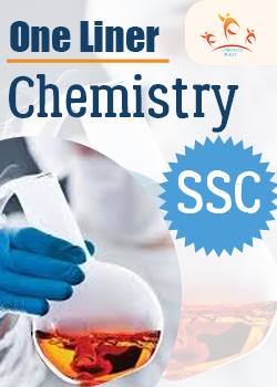 One Liner SSC Previous Year Chemistry