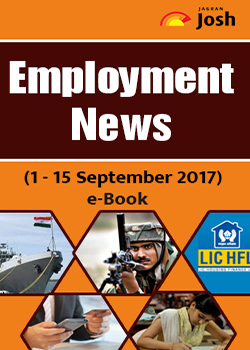 Employment News 1-15 September 2017