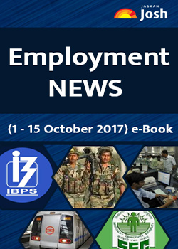 Employment News 01-15 October 2017