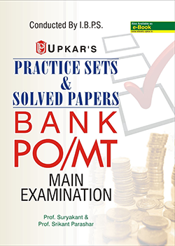 IBPS BANK PO/MT Main Examination Practice Sets and Solved Papers