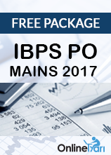 IBPS PO Mains 2017 -  Free Package
